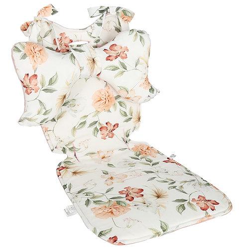 Pram liner & butterfly pillow