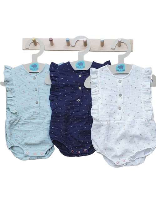 Baby Romper by Pink No More