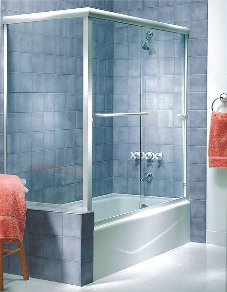Sea Breeze Glass San Diego Semi-Frameless Shower & Bath Enclosures