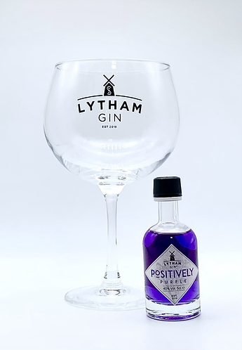 Gift Set - Lytham Gin Glass with a 5cl Gin