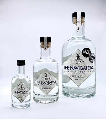 The Navigator's - Navy Strength Gin - 54.5% ABV (100% Proof)