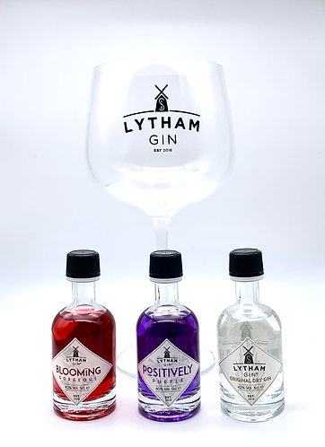 Lytham Gin Glass and 5cl Set