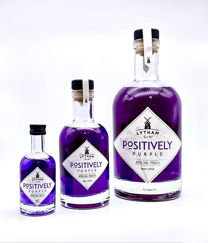 Positively Purple - Colour Changing Contemporary Dry Gin - 40% ABV