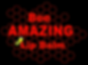 Bee AMAZING Lip Balm Logo