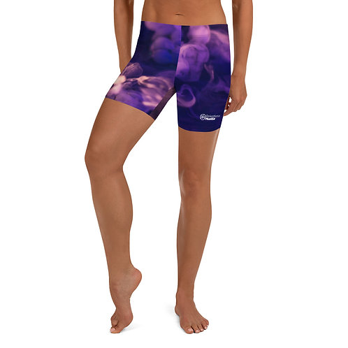 Purple Smoke Athletic Shorts