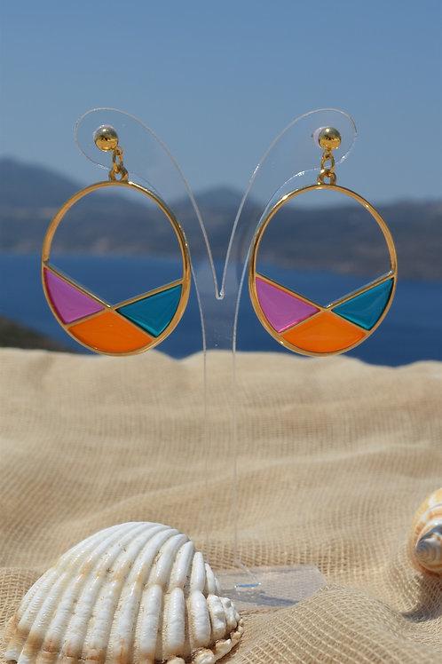 Ring contour with shapes- Κρίκος με γεωμετρικά σχήματα