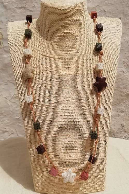Lava necklace - Κολιέ λάβα