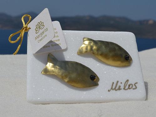 Handcrafted decorations fishes χειροποίητα διακοσμητικά ψάρια