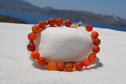Agate orange - Πορτοκαλί αχάτης