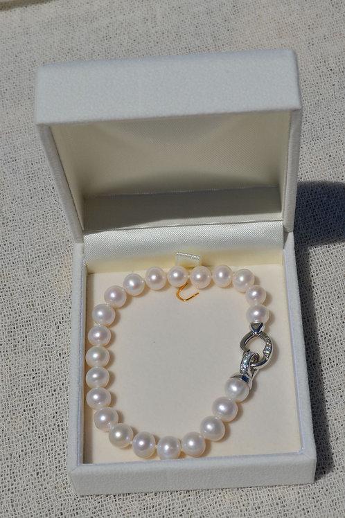 Fresh water pearl bracelet - Βραχιόλι μαργαριτάρι