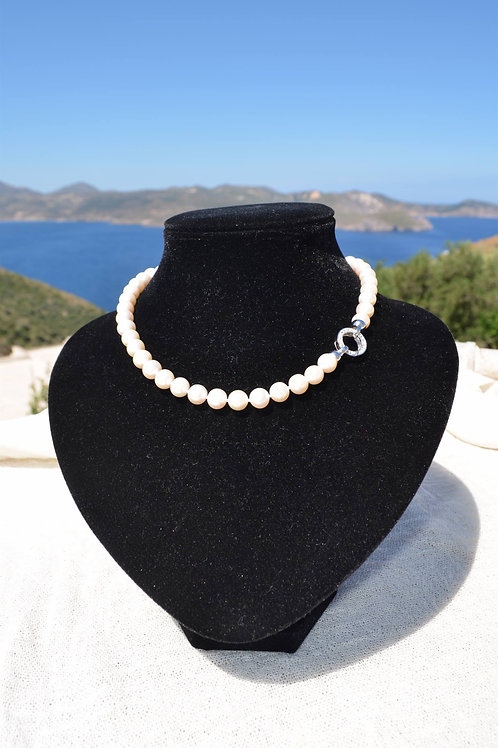 Fresh water pearl necklace - Κολιέ μαργαριτάρι