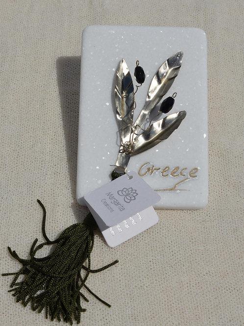 Olive branch - Κλαδί ελιάς