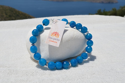 Blue Agate - Μπλε αχάτης