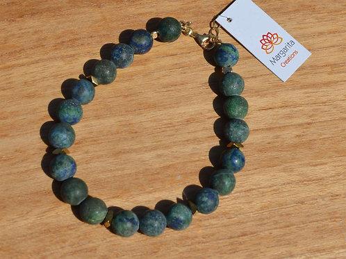 Blue - green Agate - Μπλε - πράσινος αχάτης