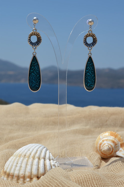 Turquoise drop - Σταγόνα τυρκουάζ