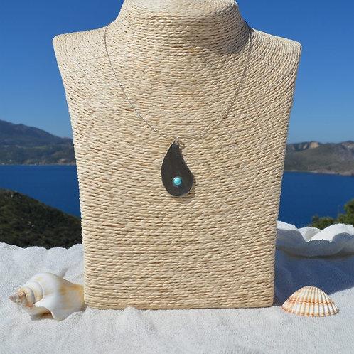 hand crafted jewels drop with fresh water pearl χειροποίητα κοσμήματα