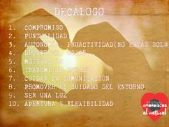 DECÁLOGO VOLUNTARI@S