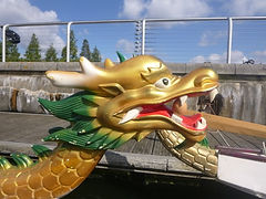 London dragon boat racing