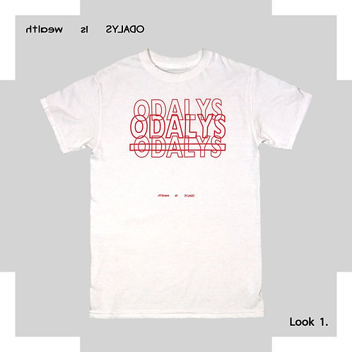 Look 1White / Red