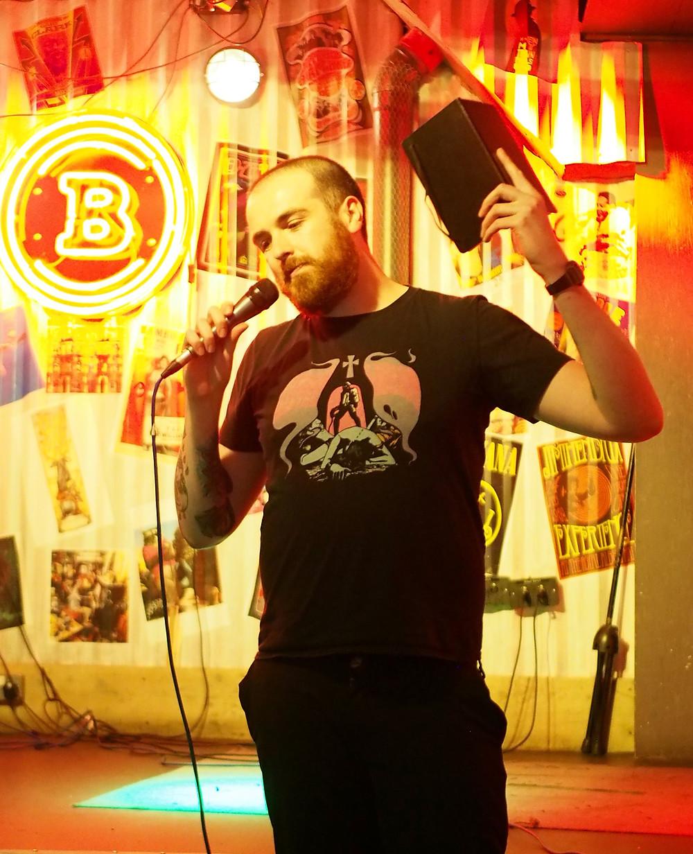 Zach Williams standup comedian