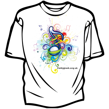 Swirl T-Shirt by FunkyPunk Music