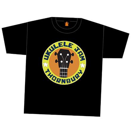 Ukulele Jam T-Shirt by FunkyPunk Music