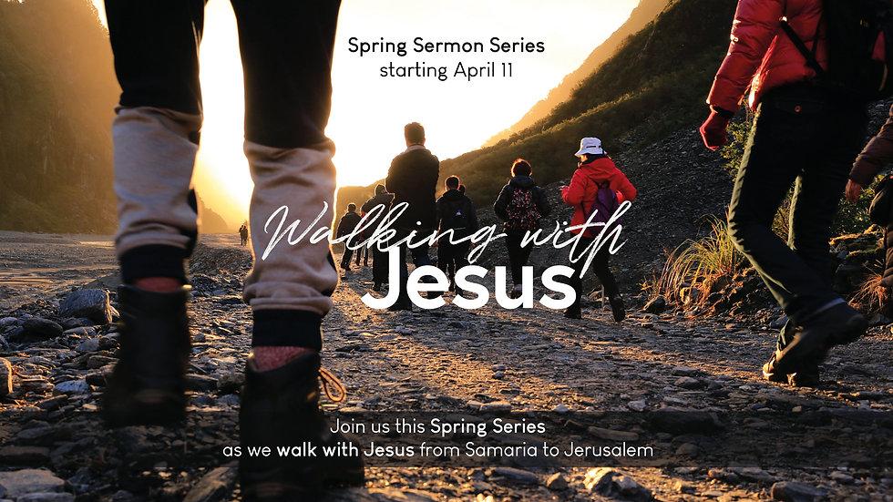 Online Service - Walking With Jesus - Sl