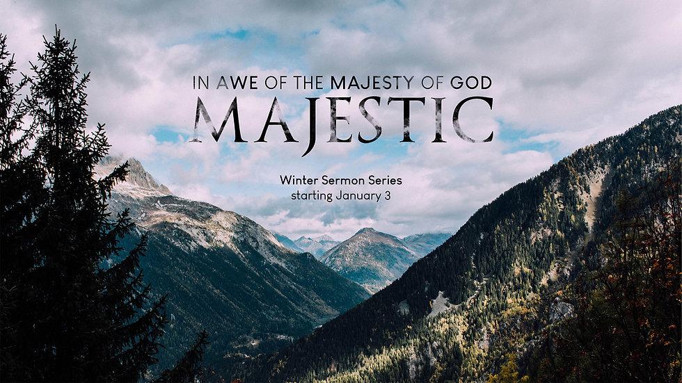 Majestic Sermon Series - Website Landing