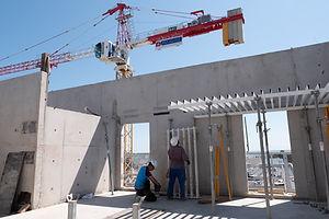 Chantier Montpellier construction