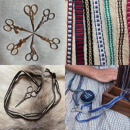 Customizable Apron Scissors and Tape Tie
