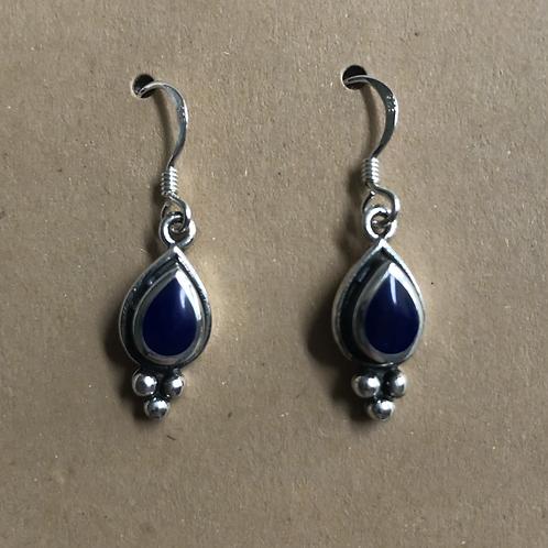 Lapis Dangle Earrings