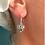 Thumbnail: Filigree Heart Earrings