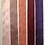 Thumbnail: Silk Taffeta Ribbon in Pink to Violet Hues