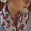 Thumbnail: Small Heart Ribbon Necklace