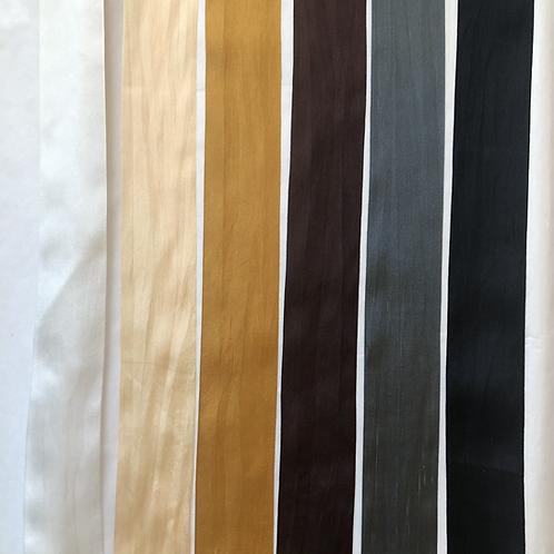 Silk Taffeta Ribbon in Natural Hues