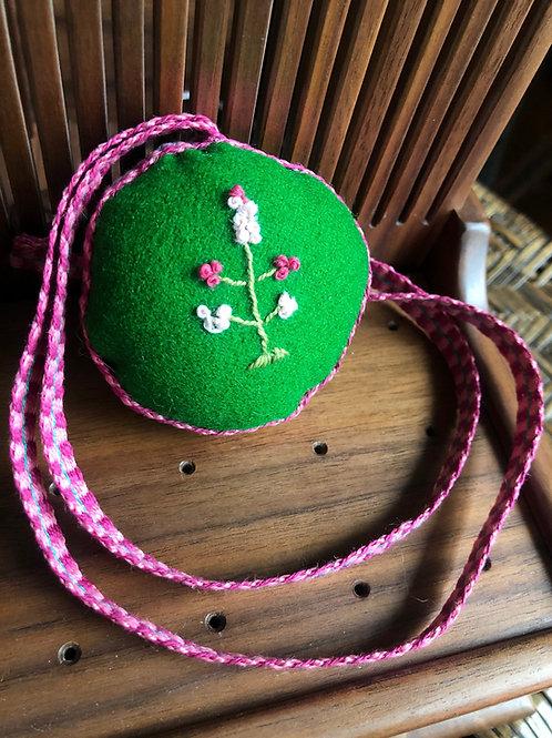 Grass Green and Pink Pinball
