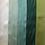 Thumbnail: Silk Taffeta Ribbon in Green Hues