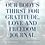 Thumbnail: Our Body's Thirst For Gratitude, Love and Freedom Book and Journal Combo
