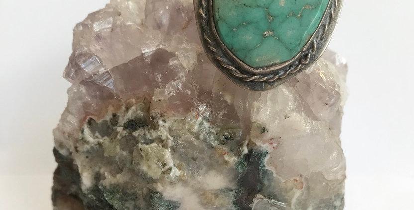 Rare Vintage Turquoise Ring