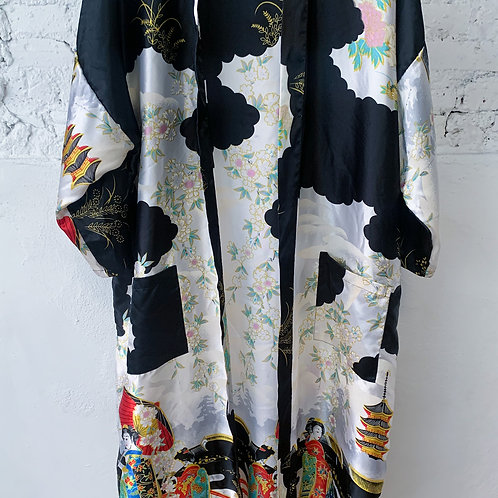 70's VINTAGE Asian Robe
