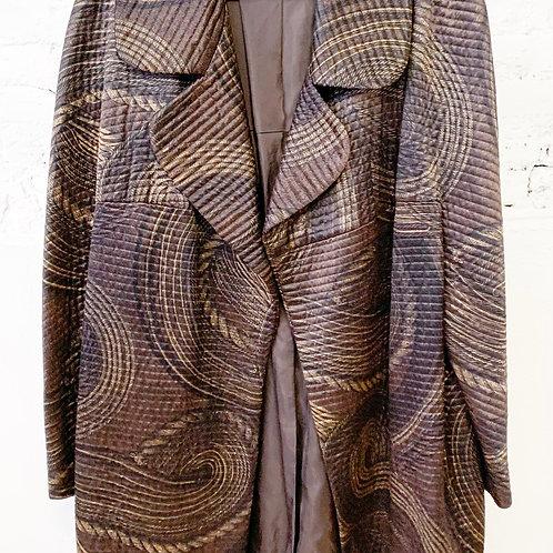 60's | 70's Italian 100% Silk Coat