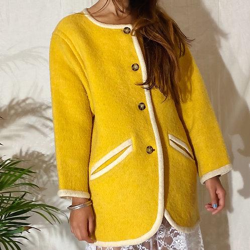 60's Courregés Paris Wool Coat