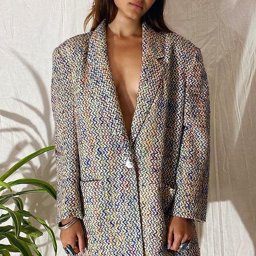 VINTAGE 80's Textured Blazer