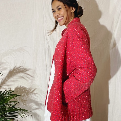 70's Vintage Quilted Jacket