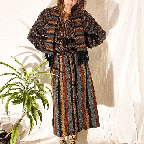 MULTI COLOR KNIT DRESS