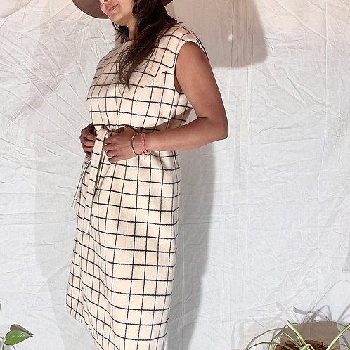 VINTAGE 60's Wool Dress
