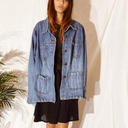 80's Cotton Denim Jacket
