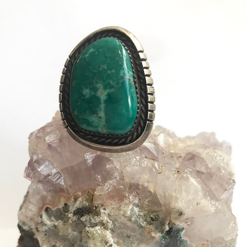 Stunning Teal Turquoise Ring