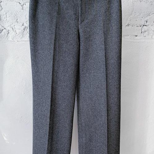 VINTAGE 60's | 70's Anne Klein Wool Wide Leg Pant