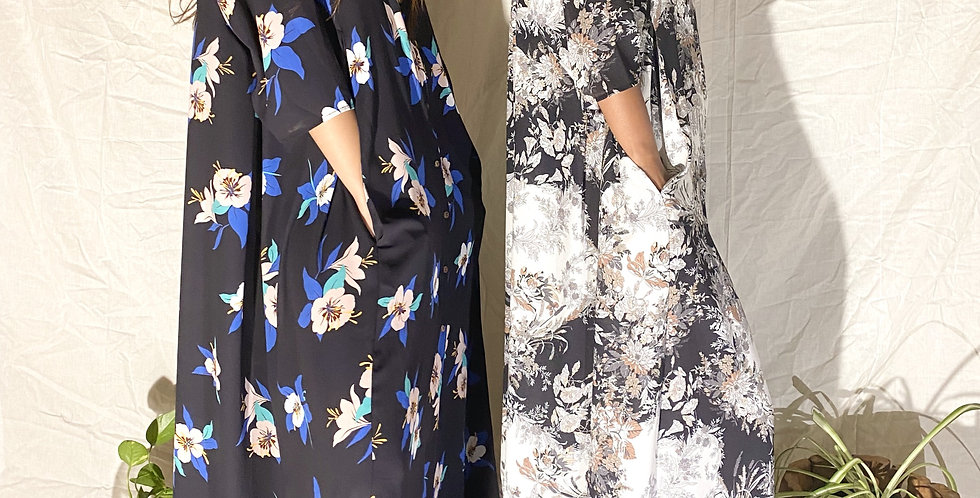 THE MAIDELE GOWN FLORALS